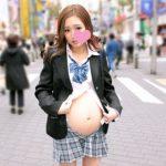 ※妊娠7か月のヤンキーJKの輪姦AVが凄い