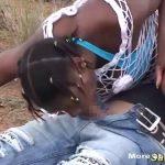 ※アフリカ原住民女3人さらってハメ倒す!病気怖いんでゴム付き