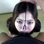 ※【クズ女】鼻フック状態でイラマ喉奥責めの後はアナル拡張され腸内洗浄!!