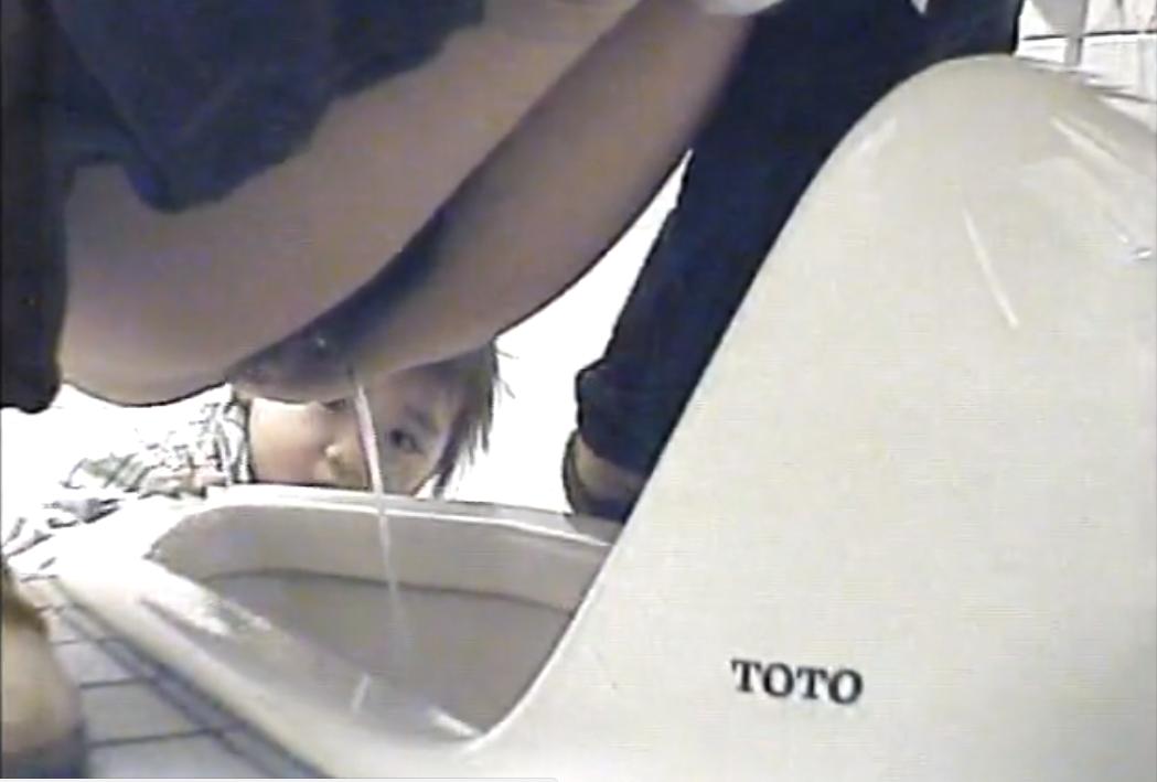 和式トイレ盗撮本物